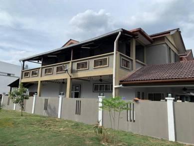 Below Market Gated Guarded Semi D Taman Villa Putra Sungai Buloh