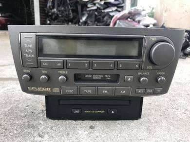 No 6-7-2 Toyota Celsior Ucf31 Player / CD Changer