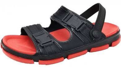 S0207 Red Slip On Sandal Men Beach Outdoor Shoes