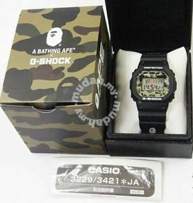 G-shock dw5600 bape limited