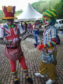 Badut belon -maskot bertam