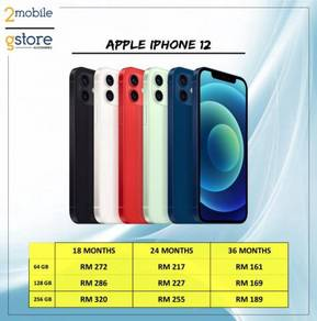 Apple Iphone 12 256GB - Apple MY Warranty