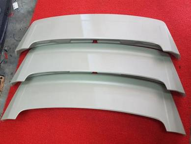Toyota wish abs spoiler with brake light lamp