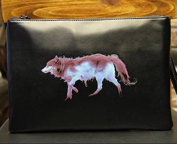 MBH546 Wolf 2 In 1 Sling Clutch Bag Large Capacity