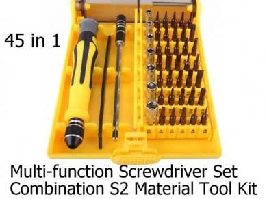 Screwdriver Set S2 Hardware Repair Tool Kit 45in1