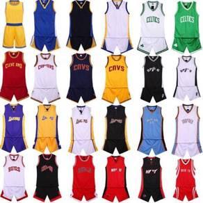 Basketball shirt trouser support print logo number