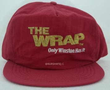 Winston cap (snapback) red colour