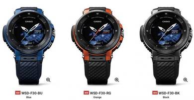 Casio Pro Trek WSD-F30 Smart Watches