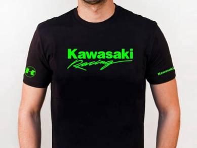 Baju T-Shirt KAWASAKI II NSQ181 siap poslaju