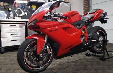 2011 Ducati 848 EVO immaculate condition