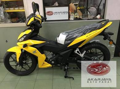 Honda rs150 rs 150 YELLOW FREE EXHAUST