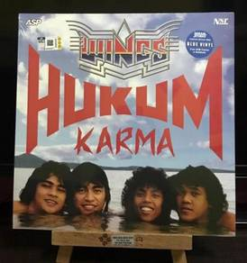 WINGS PIRING HITAM (Vinyl) WINGS HUKUM KARMA