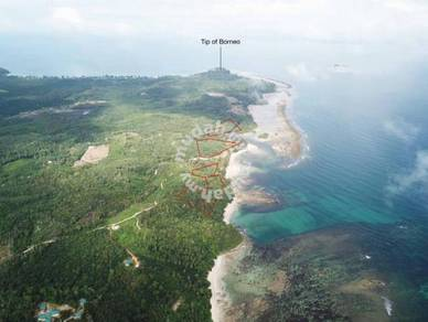 Kudat 5 Seafront Lands - 29.3 acres (2.5KM to tips of Borneo)