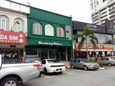 Kedai 2 STY End LOT Bandar Baru Bangi Sek 9 Kajang ROI 6 Best BUY