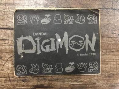 Digimon vpet booklet ver 2 virtual pet tamagotchi