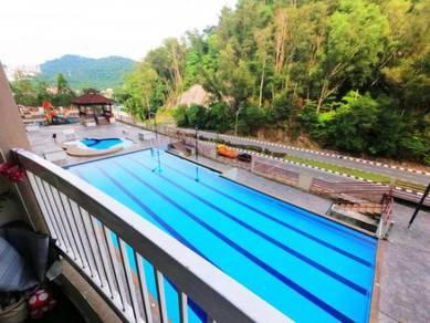 FACING POOL Kipark Condominium Bandar Baru Selayang FULLY RENOVATED