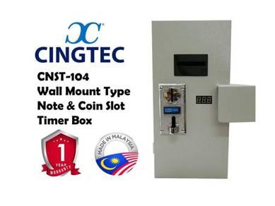 Laundry / Dobi - Note & Coin Slot Timer Box