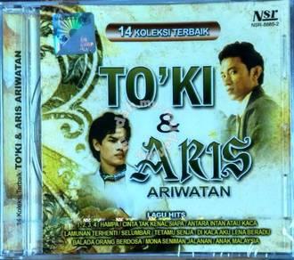 CD TO'KI Dan ARIS ARIWATAN 14 Koleksi Terbaik
