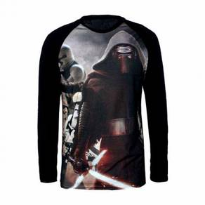 Star wars kylo ren black long sleeve top