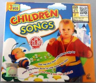 VCD Children Songs English Songs (3VCD)