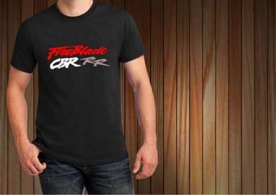 Baju T-Shirt FIREBLADE CBR RR NSQ194 siap poslaju