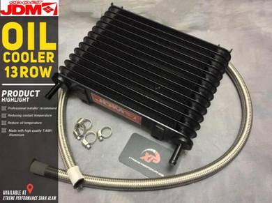 Gearbox OIL COOLER AUTO JDM 13 RoW BRAIDED HOSE