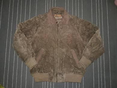 Men Coduroy Jeans Jacket size M / Jaket