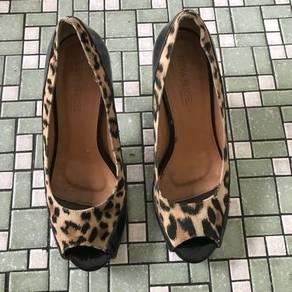 Handmade Leopard Heels
