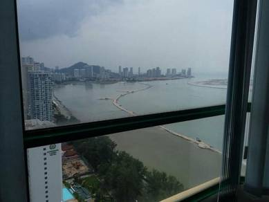 Gurney Towerm Office Space, 580sqft, Renovated & Partition, Sea View