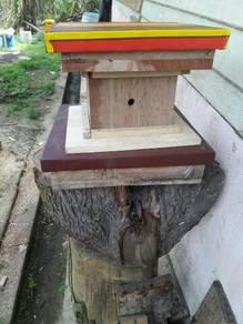 Haif kotak untk lebah kelulut