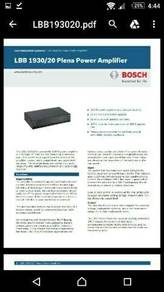 Cctv bocsh 16 channel with warranty