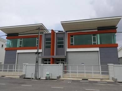 Single Storey Semi-D Forctory At Tmn Industries Angkasa Nuri