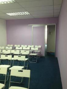 Plaster/partition carpet office penang