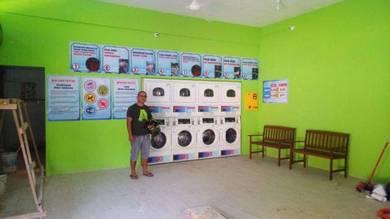Laundry self service / dobi layan diri