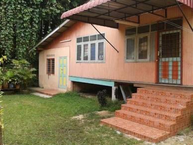 Rumah kampung pulau musang utk disewa