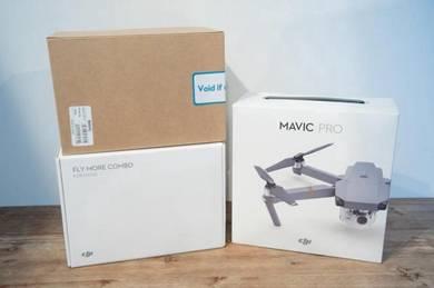 New DJI Mavic Pro with Fly More Combo