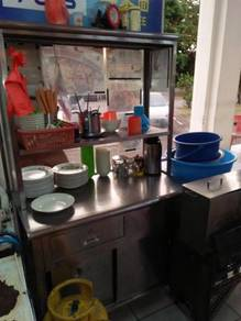 Mee stall / chicken rice stall