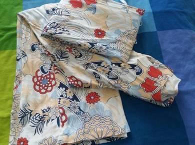 Baju kurung Japanese Cotton