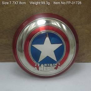 Captain America Spiderman Deadpool belt buckle