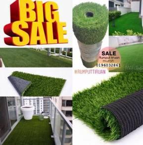 Sale raya rumput tiruan & artificial grass