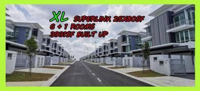3 Storey XL Superlink Nusa Sentral-100% Loan Free Legal, stamp duty