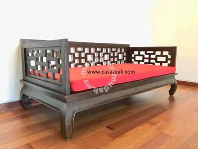 Teak Wood Daybed - Kedai Jati Selangor