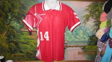 Vintage 90s hummel jersey sz M(Denmark 95)