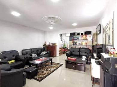 Jln Lading Puteri Wangsa Low Cost 2 Stry House For Sale