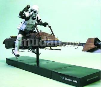 Starwars Speedbike and Army