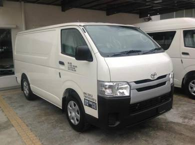 Toyota Hiace 2.5 DESEL PANEL VAN BARU - TANPA SST