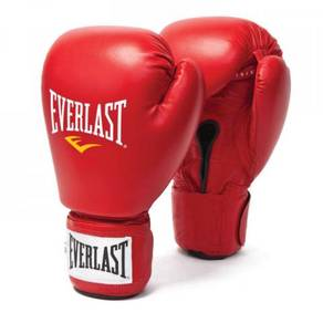 EVERLAST boxing glove SIZE 10 oz RED (MERAH) NEW