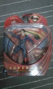 DC Comics Superman with Kryptonian movie masters