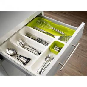 Expandable cutlery tray / drawer organizer 12