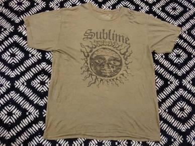 Sublime band t shirt 2010 size L